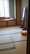 関西エアポートワシントンホテル内の神式の結婚式会場の隣の支度部屋 姿見