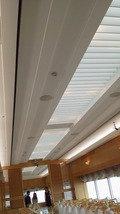 関西エアポートワシントンホテル内の結婚式のチャペルの天井