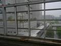 スターゲイトホテル 関西エアポート りんくうタウン駅のホームから見たチャペル