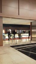 ホテル日航大阪二階のフロント