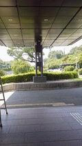 かんぽの宿富田林玄関前