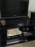 お部屋のテレビ下のコーヒーセット