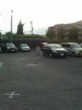 ホテル長崎の奥側の駐車場