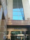 ホテル京阪のJR側の入り口