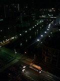 窓からの景色夜景