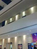 メインロビーの3階フロントの上部