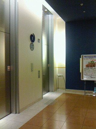 3階ロビー横のエレベーター
