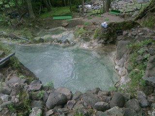 外湯の露天風呂