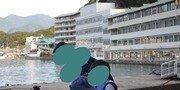 ホテル海側から