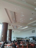 飛翔館にあるレストランハポの朝食風景