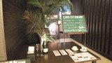 ロビーフロアの喫茶店