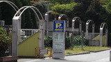 江坂公園の駐車場もすぐです