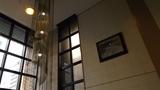 ビジネスホテルですが洒落た照明です