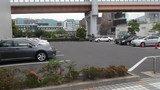 こちらは平地の駐車場