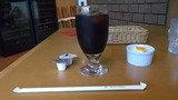 ホテルの喫茶店で飲んだアイスコーヒー