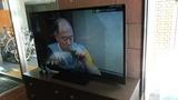 ロビーに大画面テレビも設置