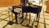 ロビーにはピアノが