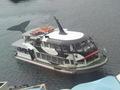 船でホテル浦島へ