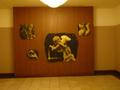 ロビーにあるエンジェルの絵画
