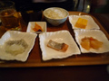 和風の朝食