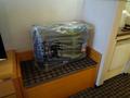 スーツケースの置き場