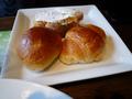 洋食メニュのパン