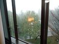 客室の窓から見た外の景色