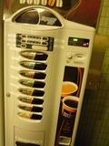 コーヒーショップの自販機