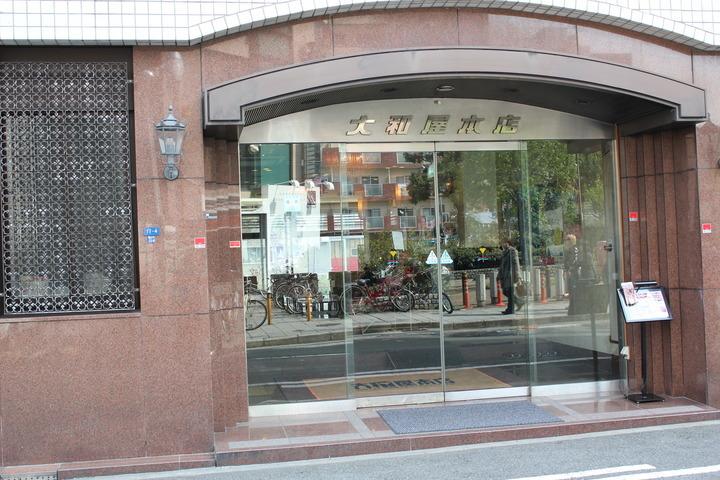 ホテル入口の写真