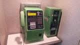 公衆電話とテレホンカードの販売機