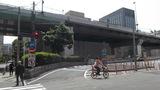 阪神高速の出口が目の前