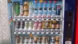 ジュースの自動販売機もあります