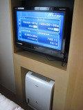 テレビと加湿・空気清浄機