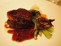 フォアグラとフィレ肉のロッシーニスタイル