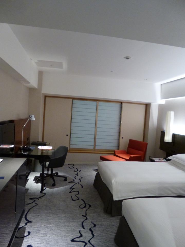 想像以上にモダンなホテルでした