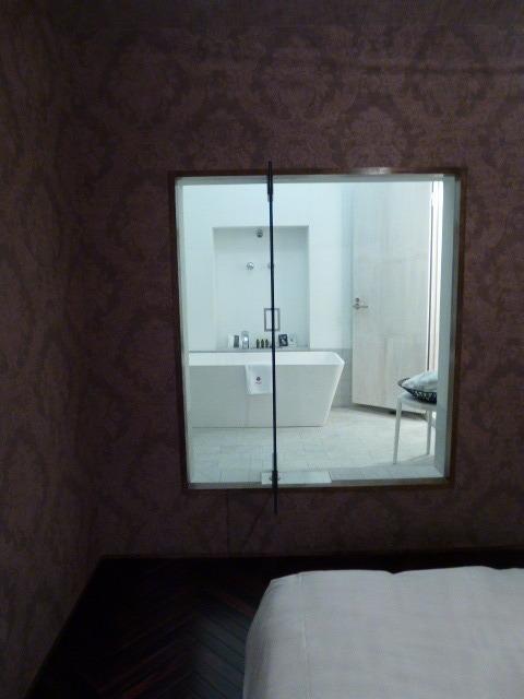 特徴的なバスルーム