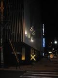 ホテルの夜の目印