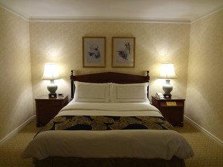 とても豪華な特大ベッドでした