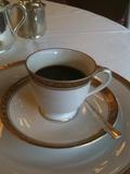 オーキッドルームのコーヒー