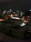 8階の部屋から見た景色