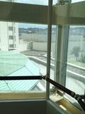 エレベーターからの眺望