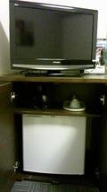 テレビ付近