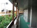 外側の廊下