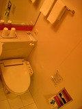 ユニットバスのトイレ