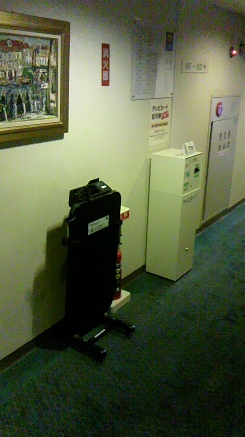 エレベーター付近