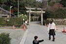 玉造湯神社参道