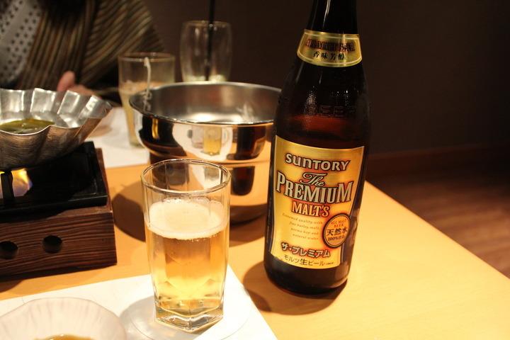 ビールはプレモルで