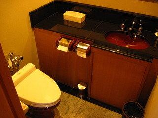 7F貸切風呂のトイレ