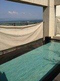 最上階露天風呂からの眺め
