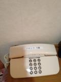 部屋内にある電話